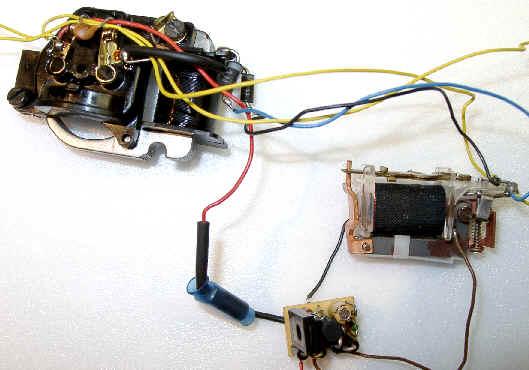 Die gute alte Umschalteletronik